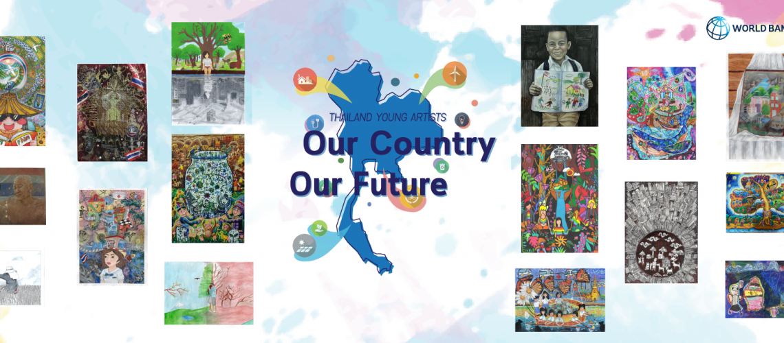 "Results of the ""Thailand Young Artists: Our Country, Our Future"" art competition"