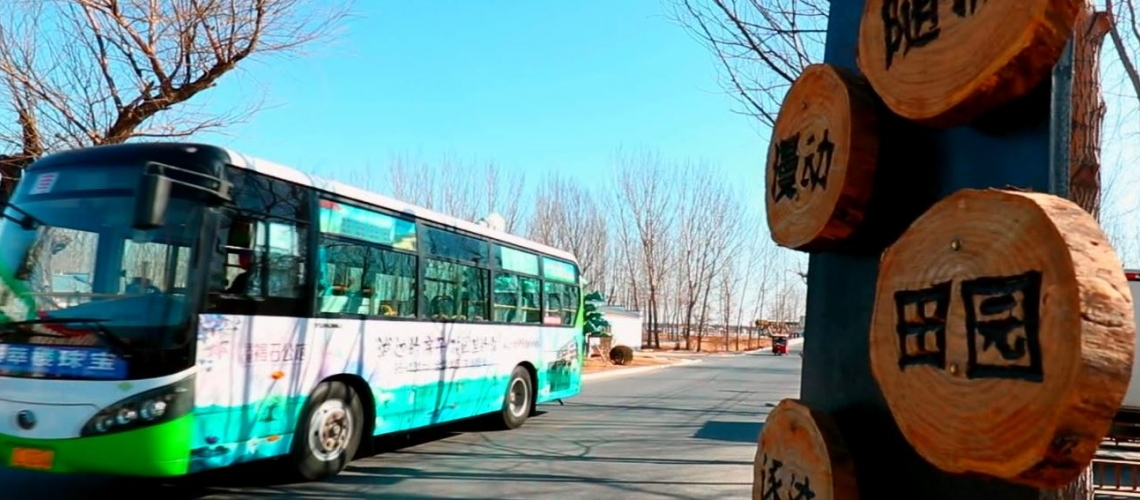 Catalyzing sustainable public transport for green urban mobility in China