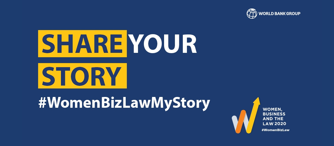 Share your story with us using #WomenBizLawMyStory