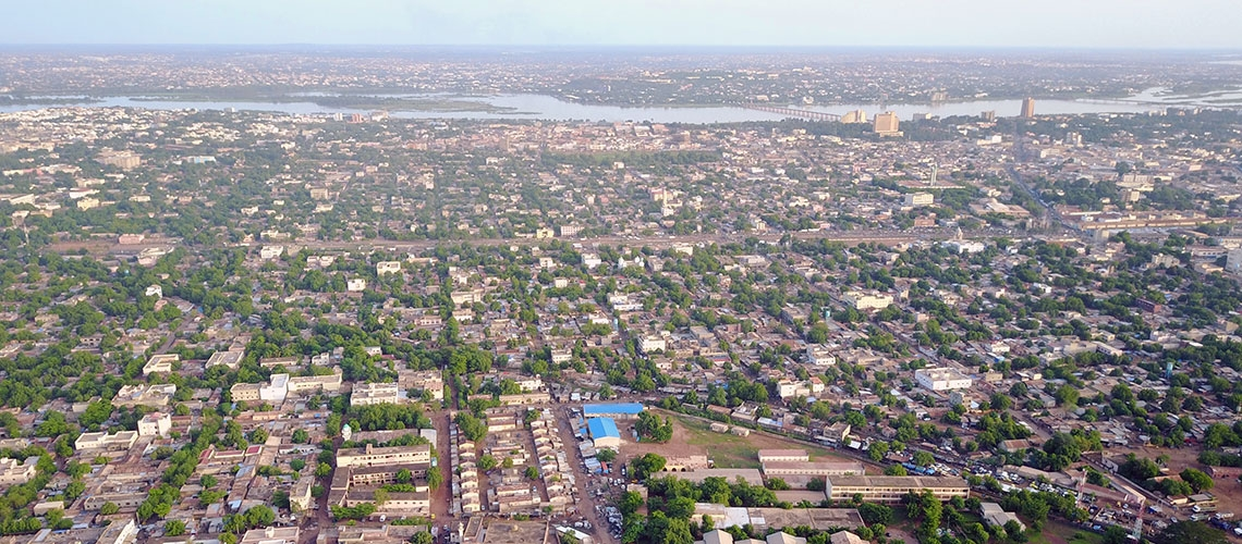 View of Bamako. Photo: Moustapha Diallo/World Bank