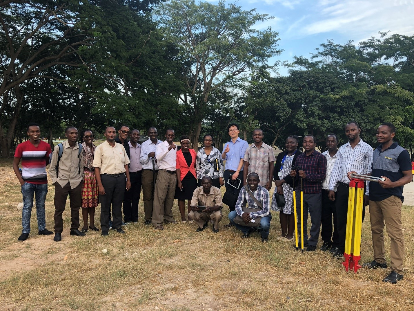 How can we help surveyors in Tanzania understand the promise of new technology?