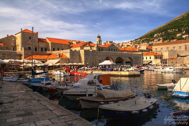 Old City of Dubrovnik, a UNESCO World Heritage Site in Croatia. (Photo by Justin Smith / Flickr CC)