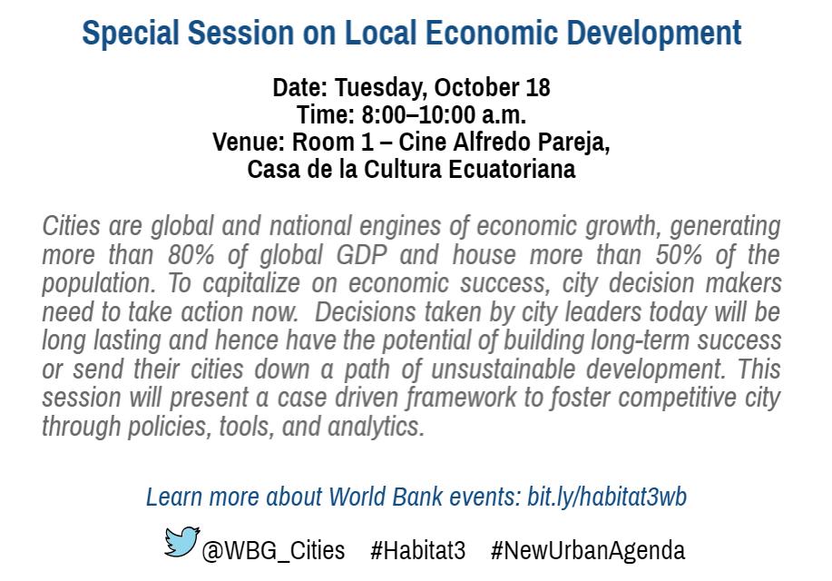 Local Economic Development Special Session