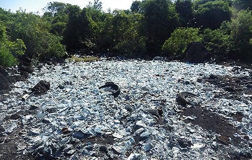 plastic waste in Comoros