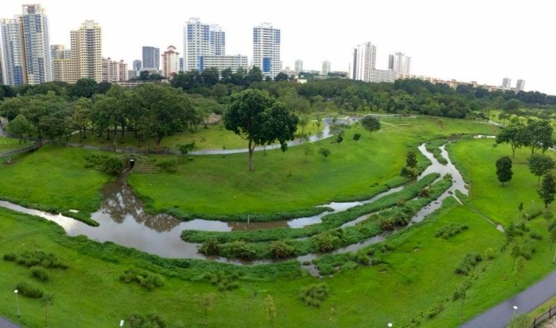 Kallang Basin in Singapore