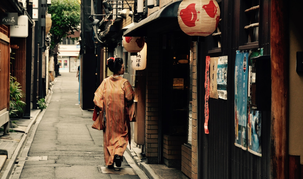 Ponto-cho Alley, Kyoto. (Barbara Minguez Garcia / World Bank, 2016)