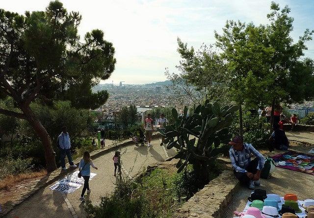 Park Guiell, Barcelona, Spain. Photo by Theirry Ilansades via Flickr CC