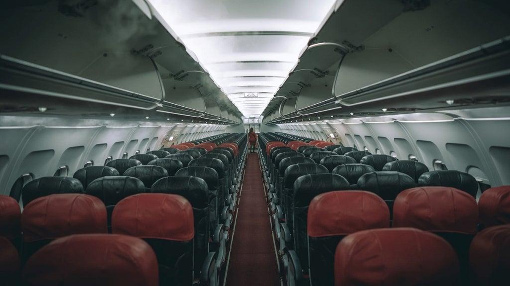 Empty plane cabin. Photo: JC Gellidon/Unsplash