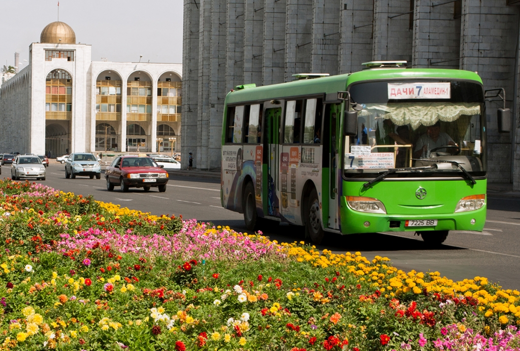 Toward safer, cleaner, and more convenient public transport in Central Asian cities
