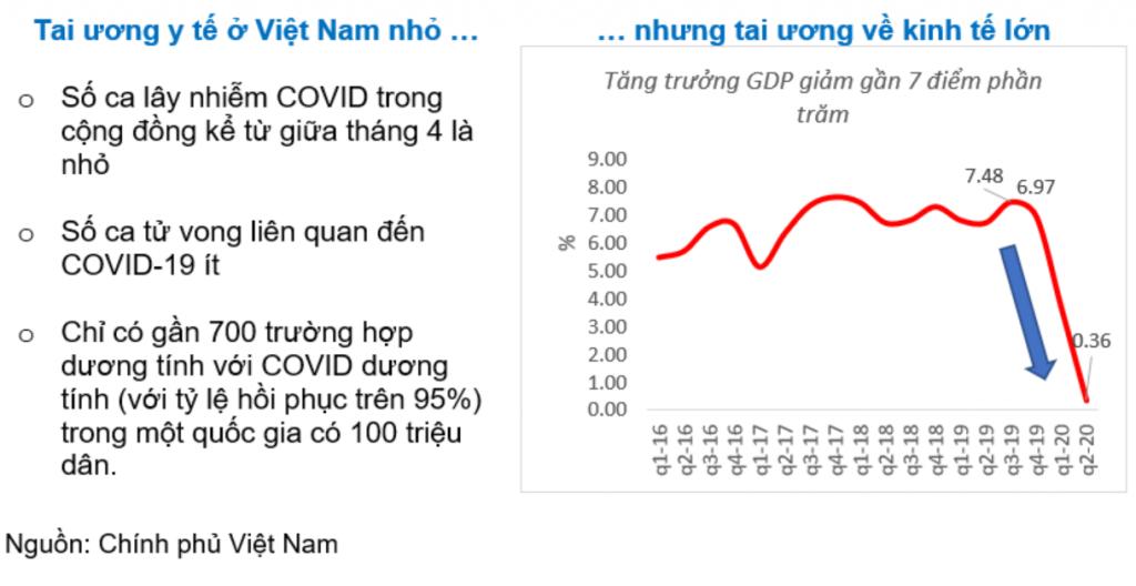 Tai ương y tế ở Việt Nam nhỏ... nhưng tai ương về kinh tế lớn