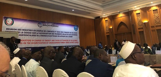 Inter-ministerial meeting to agree on the design of the West Africa Regional Energy Trade Development Policy Financing program, Bamako, Mali, March 2020- © Mustafa Zakir Hussain, World Bank