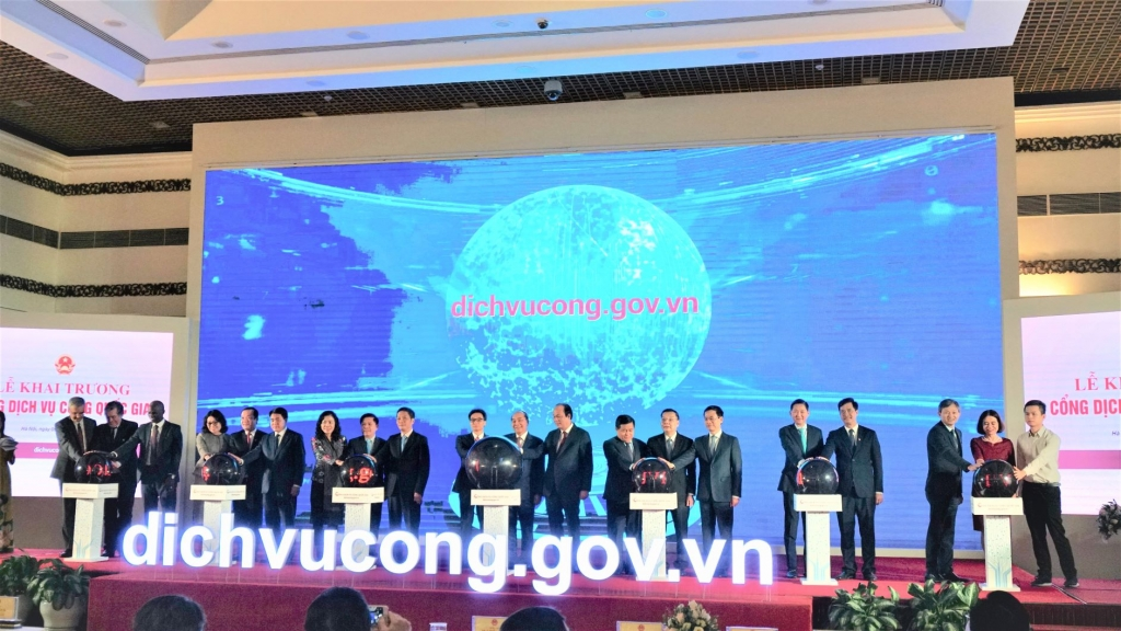 Pressing the Button. The national E-Services portal went live in December 2019, marking another milestone in Vietnam's digital government agenda.