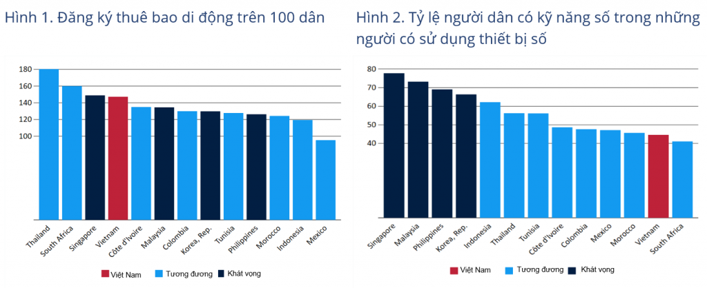 Vietnamese are using cell phones but have limited digital skills