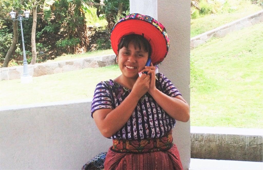Mujer en Guatemala. Foto: Katie Freeman