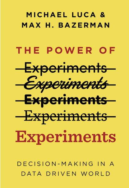 Cover page of the Power of Experiments