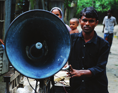 Early warning systems in Bangladesh. Amir Jina/Flickr Creative Commons