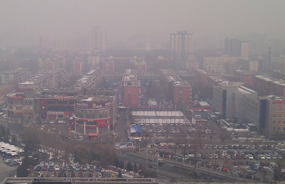 Beijing Smog. Ilya Haykinson/Flickr Creative Commons