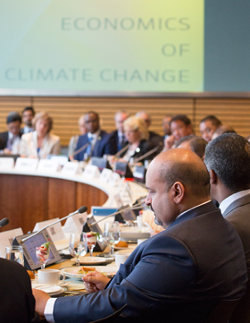 Climate change ministerial, IMF/World Bank Spring Meetings 2014