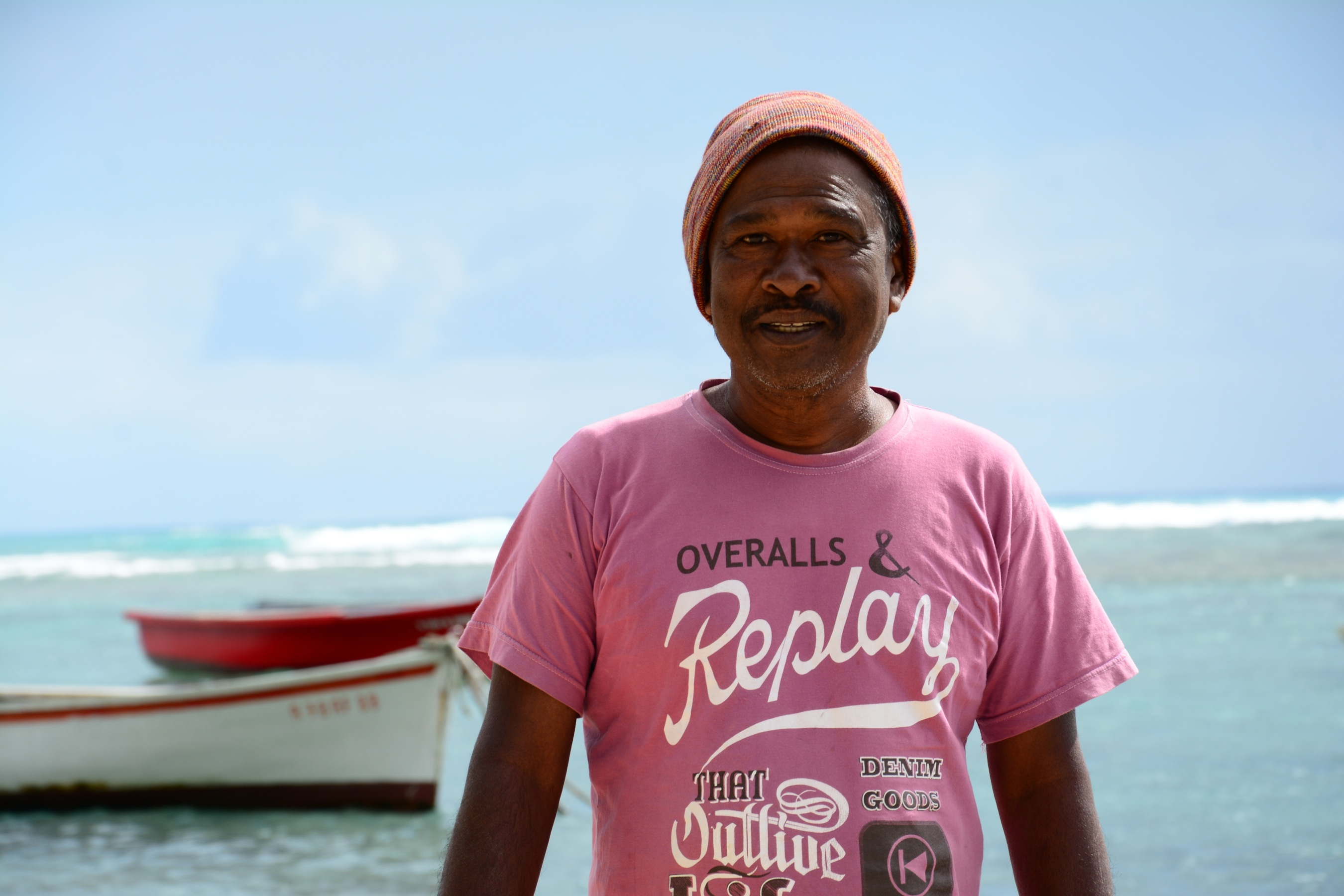 Chief fisherman Don Banchoo, 60, recalls when the Indian Ocean had so much fish