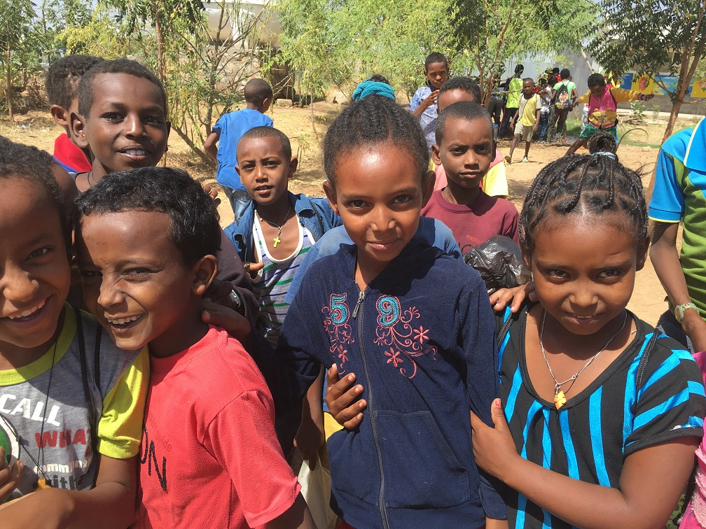 Refugee children in Ethiopia © Milena Stefanova/World Bank