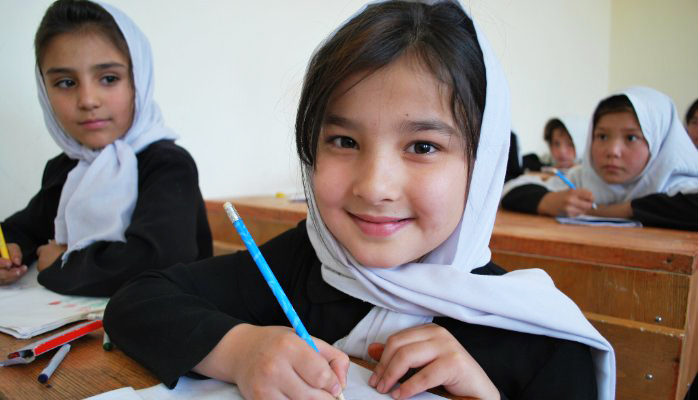 A student in Afghanistan. © Sofie Tesson/World Bank