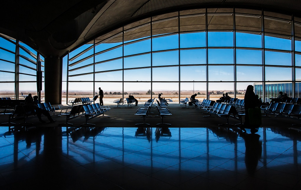 Queen Alia International Airport, Jordan. © littlesam/Shutterstock