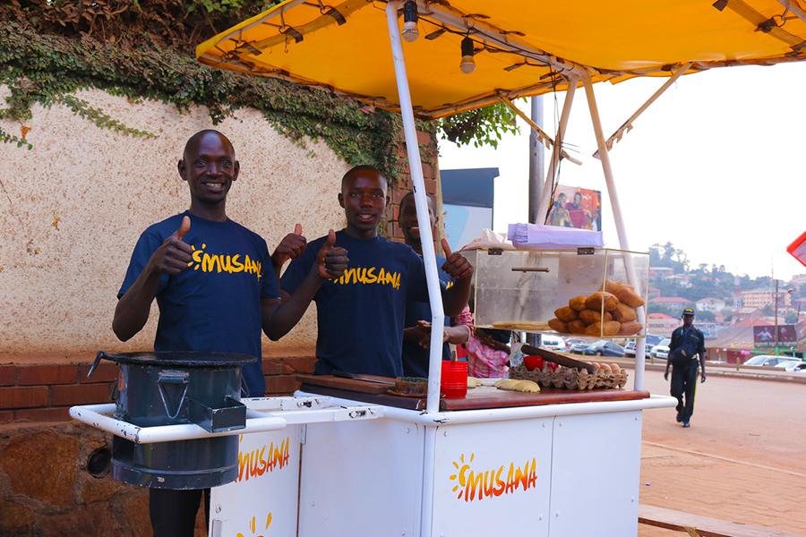 Musana Carts, a business that provides clean, solar-powered street vending carts, aims to improve the lives of street vendors.