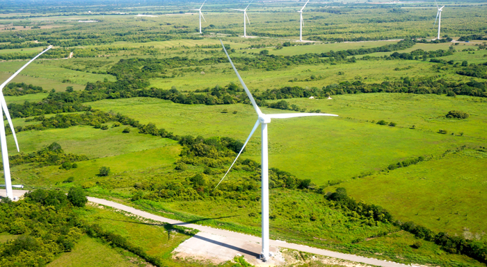 The Penonomé project in Panama will be the largest wind farm in Central America. © Penonomé