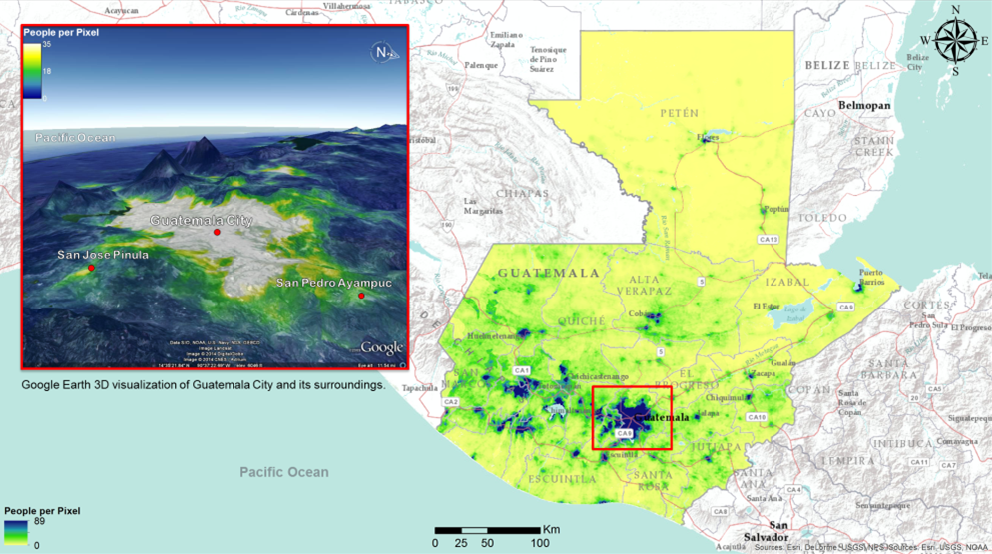 WorldPop's high-resolution mapping: the first ingredient for success