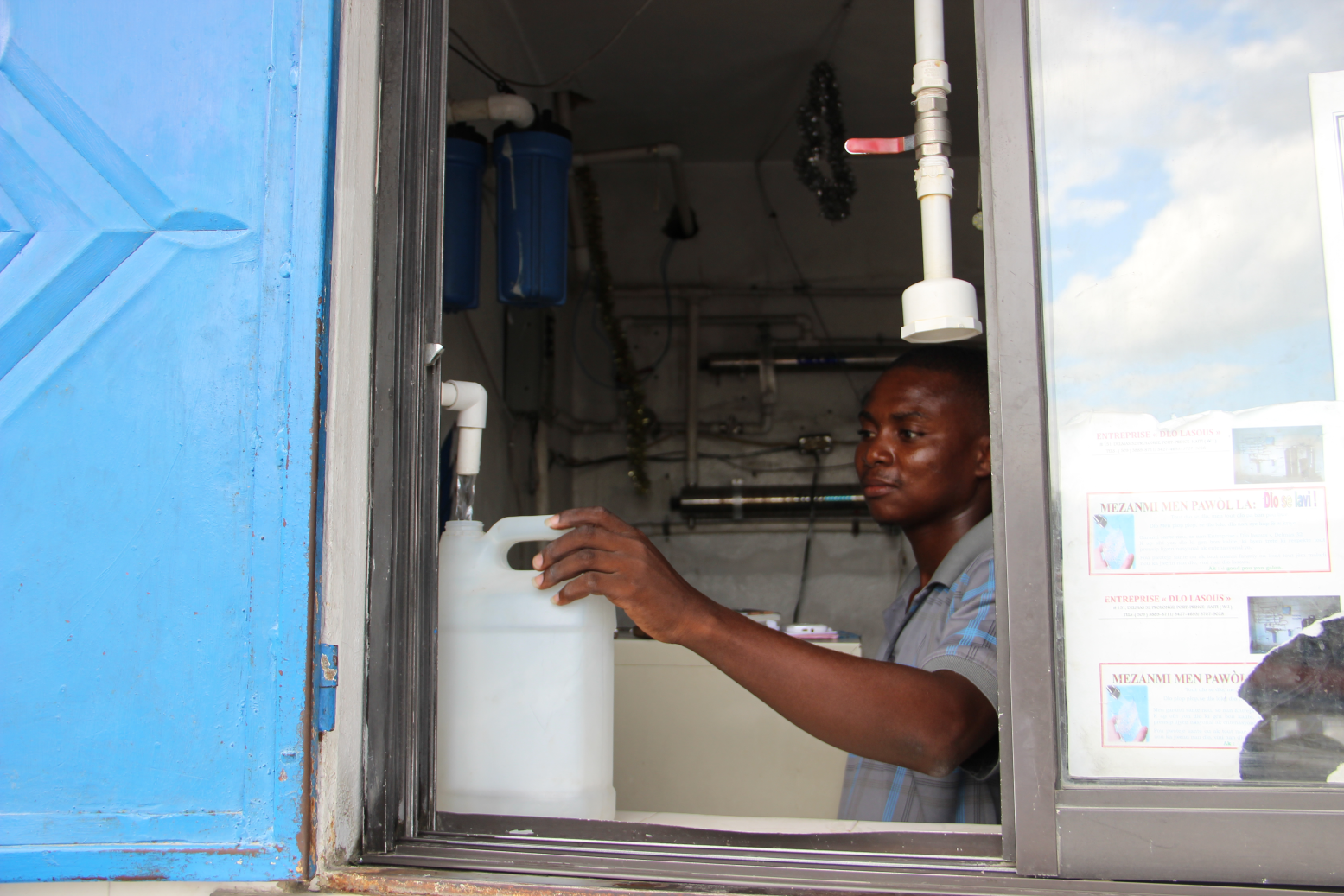Forging a path to progress for Haiti's water and sanitation