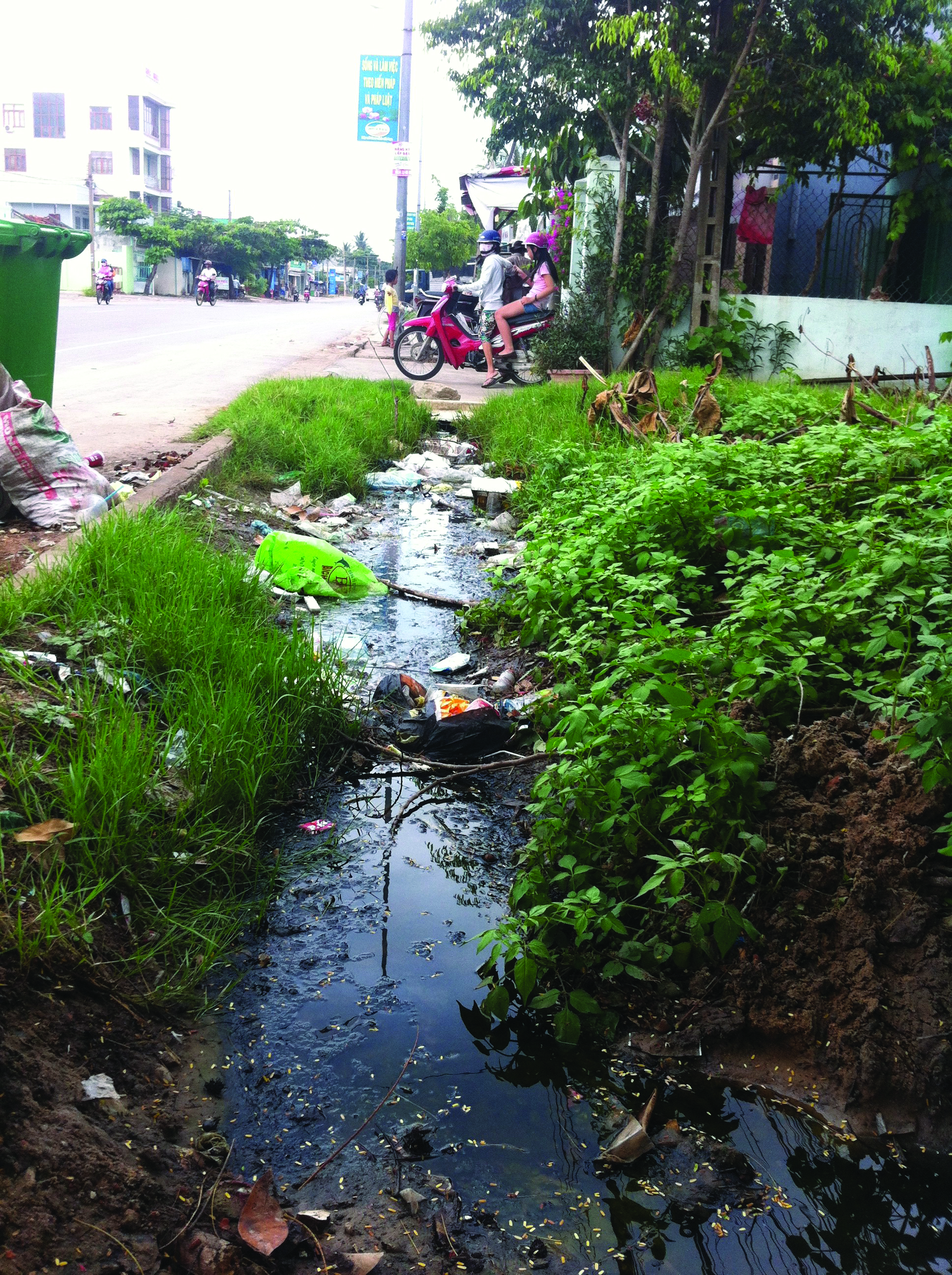 Building Urban Sewerage Infrastructure But Where Is The